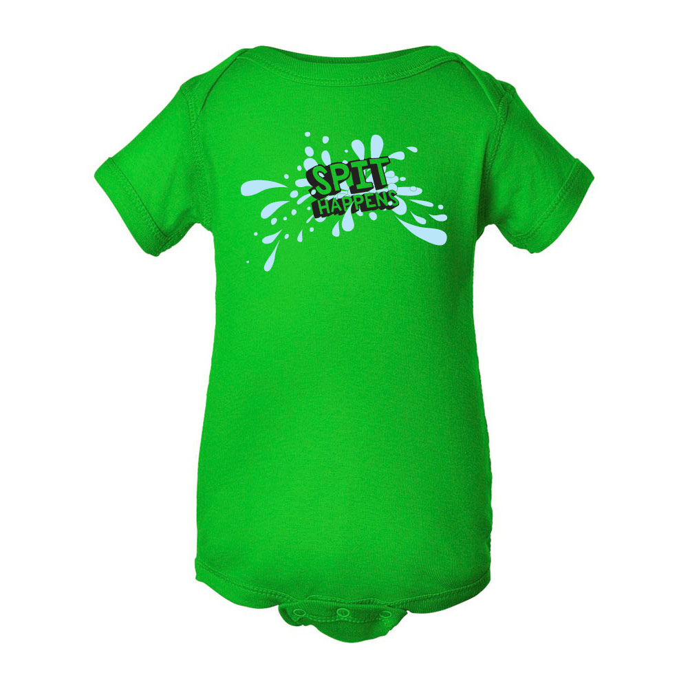 Spit Happens Graphic Bodysuits for Baby