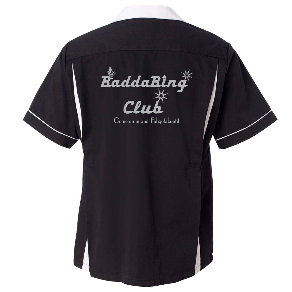 Badda Bing Club Stock Print on Classic Bowler 2.0