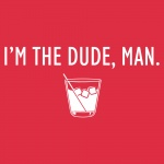 I'm the Dude Graphic Softstyle V-Neck T-Shirt