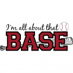 All About The Base Graphic Sportswear Baseball Jersey