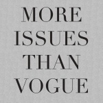 More Issues Than Vogue Ladies Graphic Heavy Cotton T-Shirt