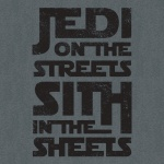 Jedi On The Streets Graphic Heavy Cotton T-Shirt