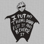 Flip It and Reverse It Graphic Heavy Cotton T-Shirt