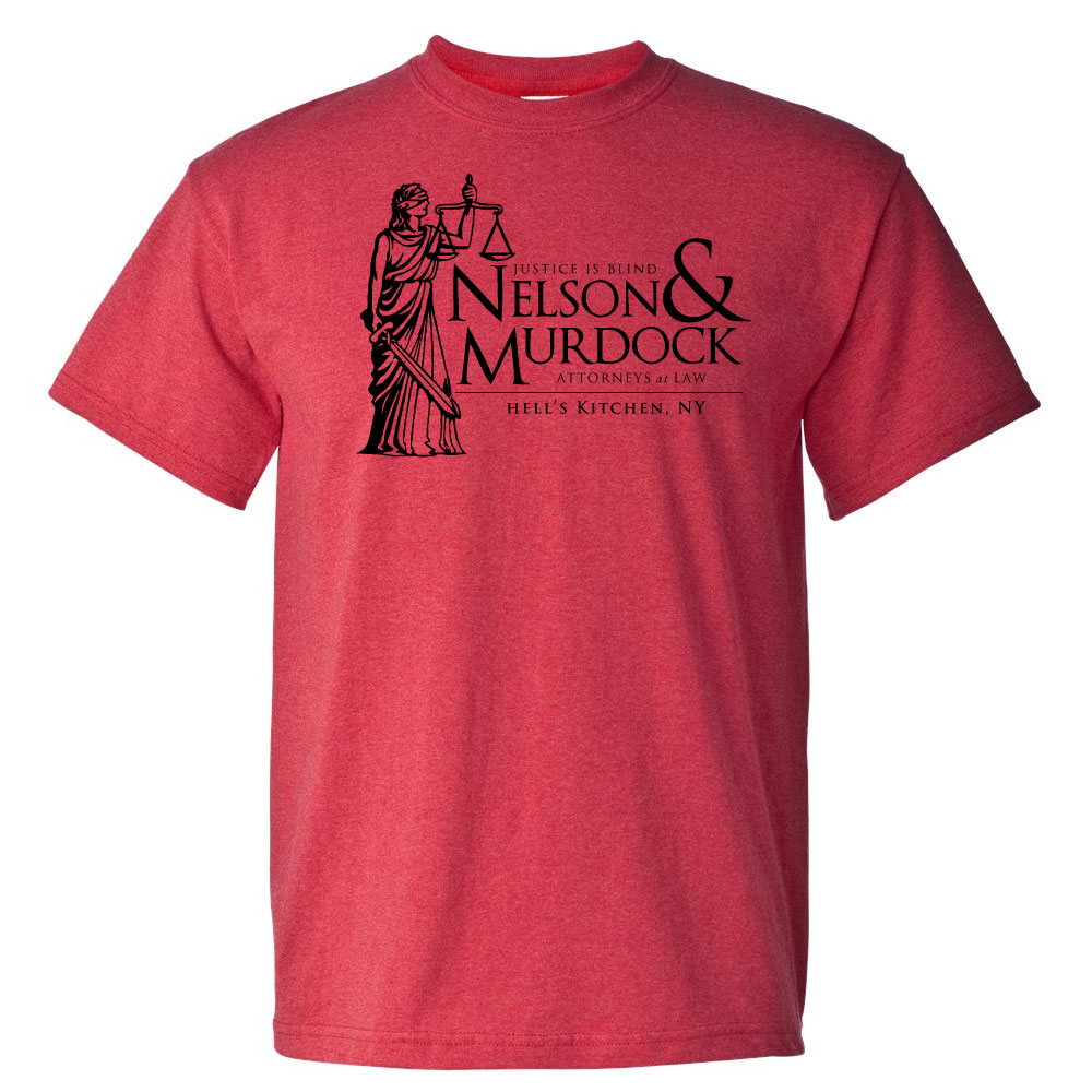 Nelson & Murdock Graphic Heavy Cotton T-Shirt
