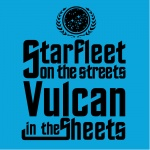 StarFleet in the Sheets Graphic Heavy Cotton T-Shirt