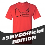 SMYS Official Heavy Cotton T-Shirt - Red