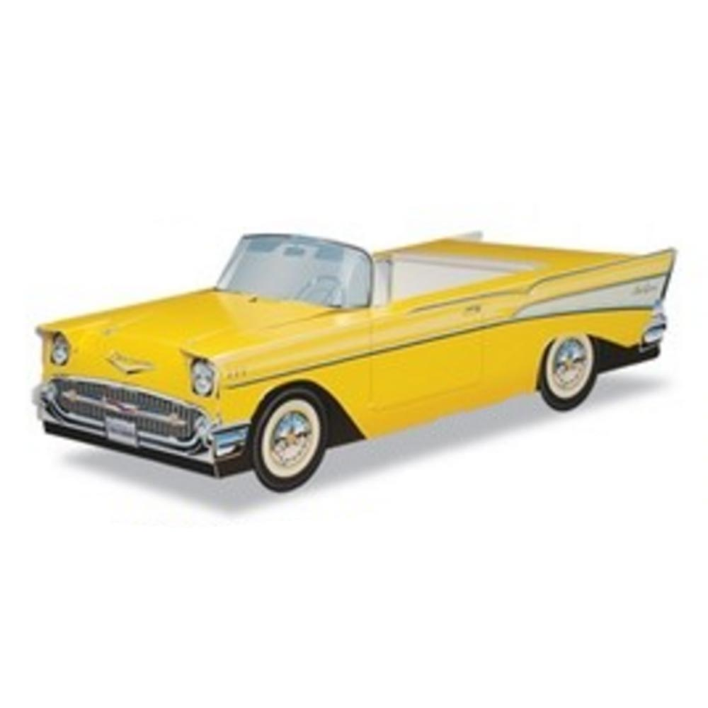 57 Chevy Bel Air (Yellow)