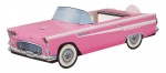 56 Ford T-Bird (Hot Pink)