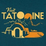 Visit Tatooine Graphic Heavy Cotton T-Shirt