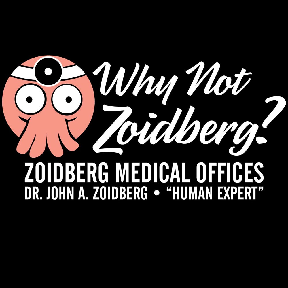 Why Not Zoidberg? Graphic Heavy Cotton T-Shirt