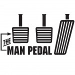 The Man Pedal Graphic Heavy Cotton T-Shirt