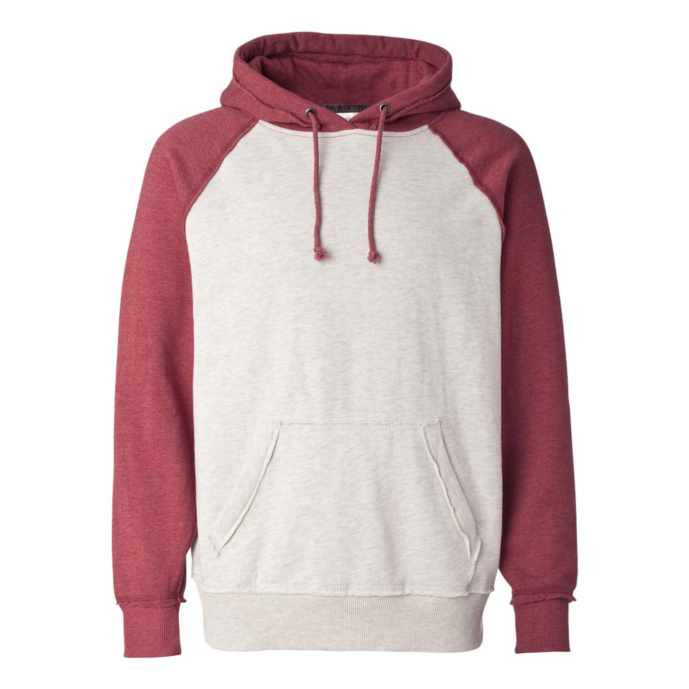 Vintage Heather Hooded Sweatshirt