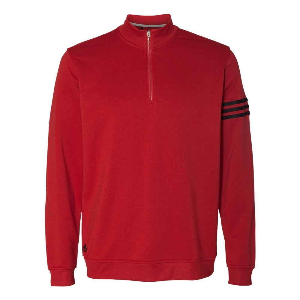 adidas - Three-Stripe French Terry Pullover