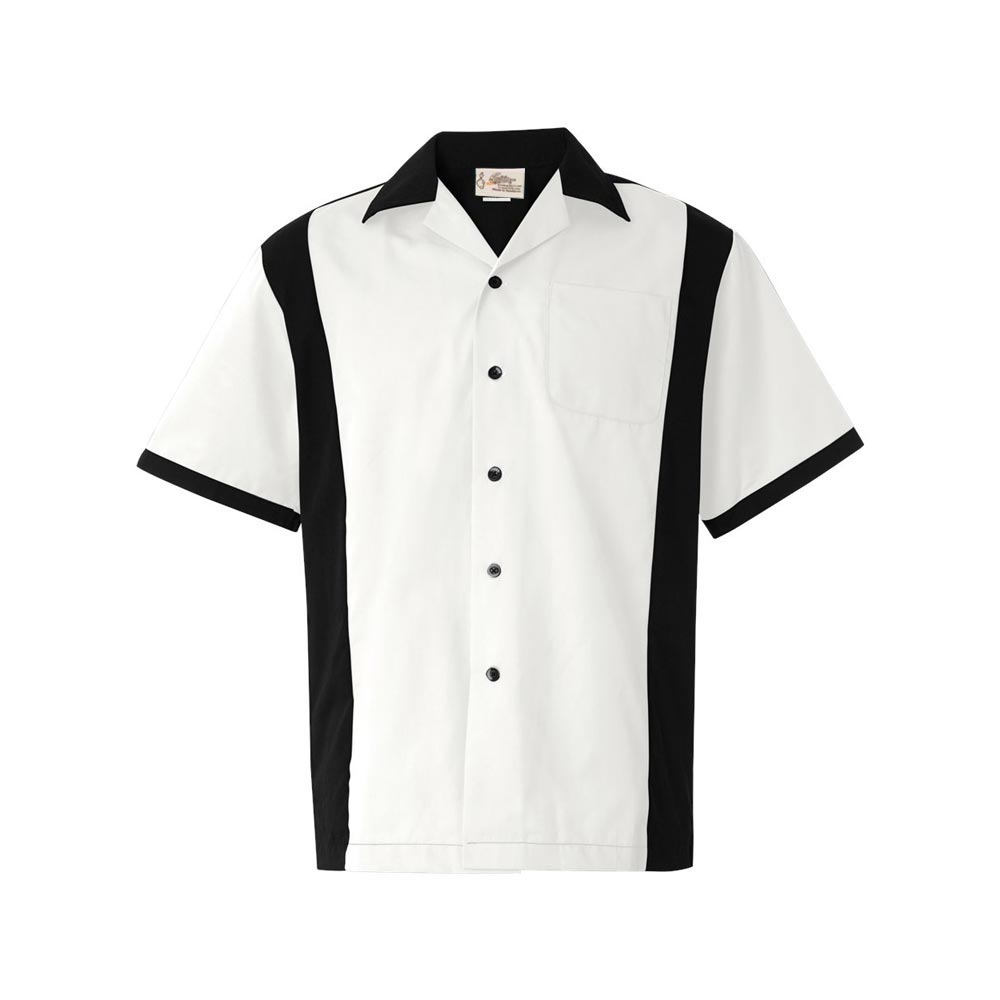 Retro Clothing for Men | Vintage Men's Fashion Retro Two - White $34.95 AT vintagedancer.com
