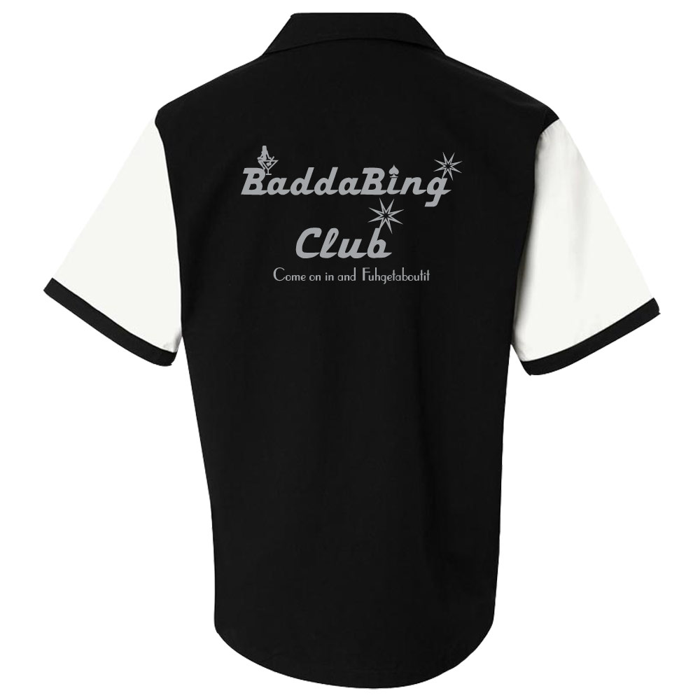 Badda Bing Club Stock Print on The Retro Two
