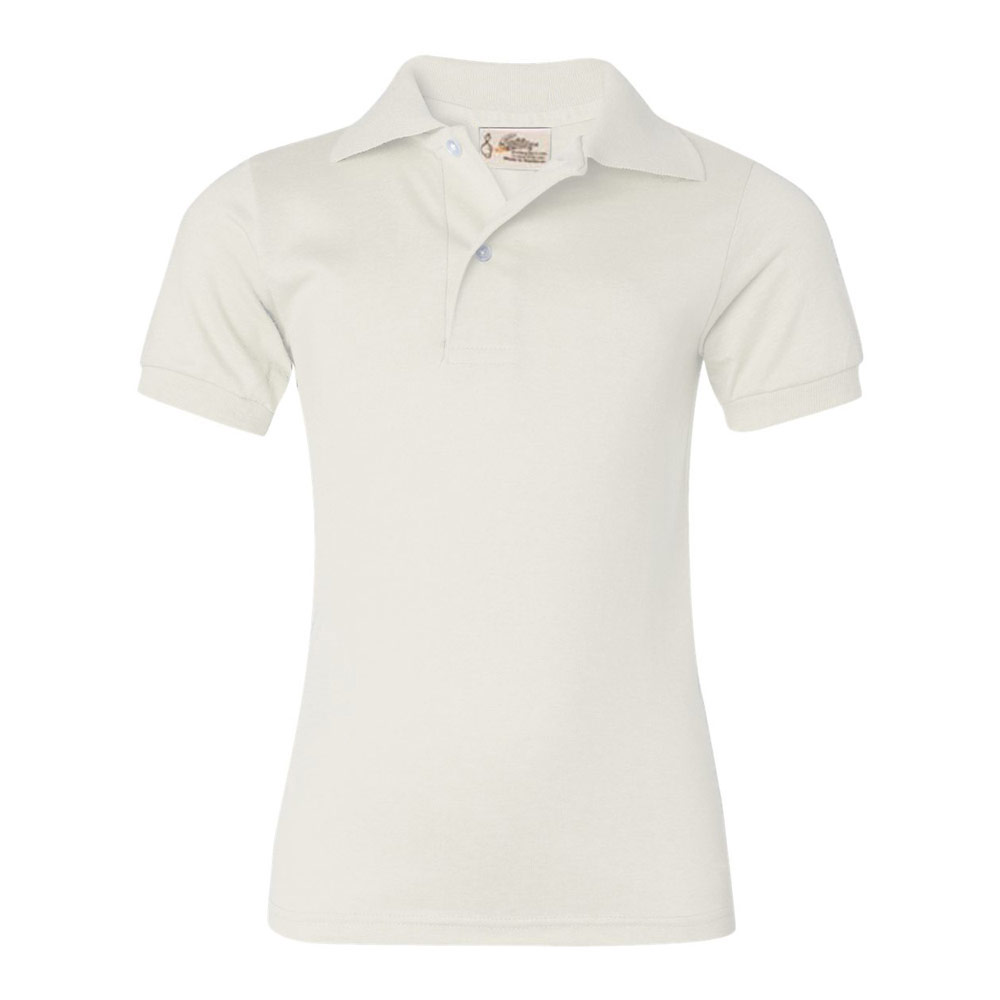 White Youth SpotShield Jersey Sport Shirt?