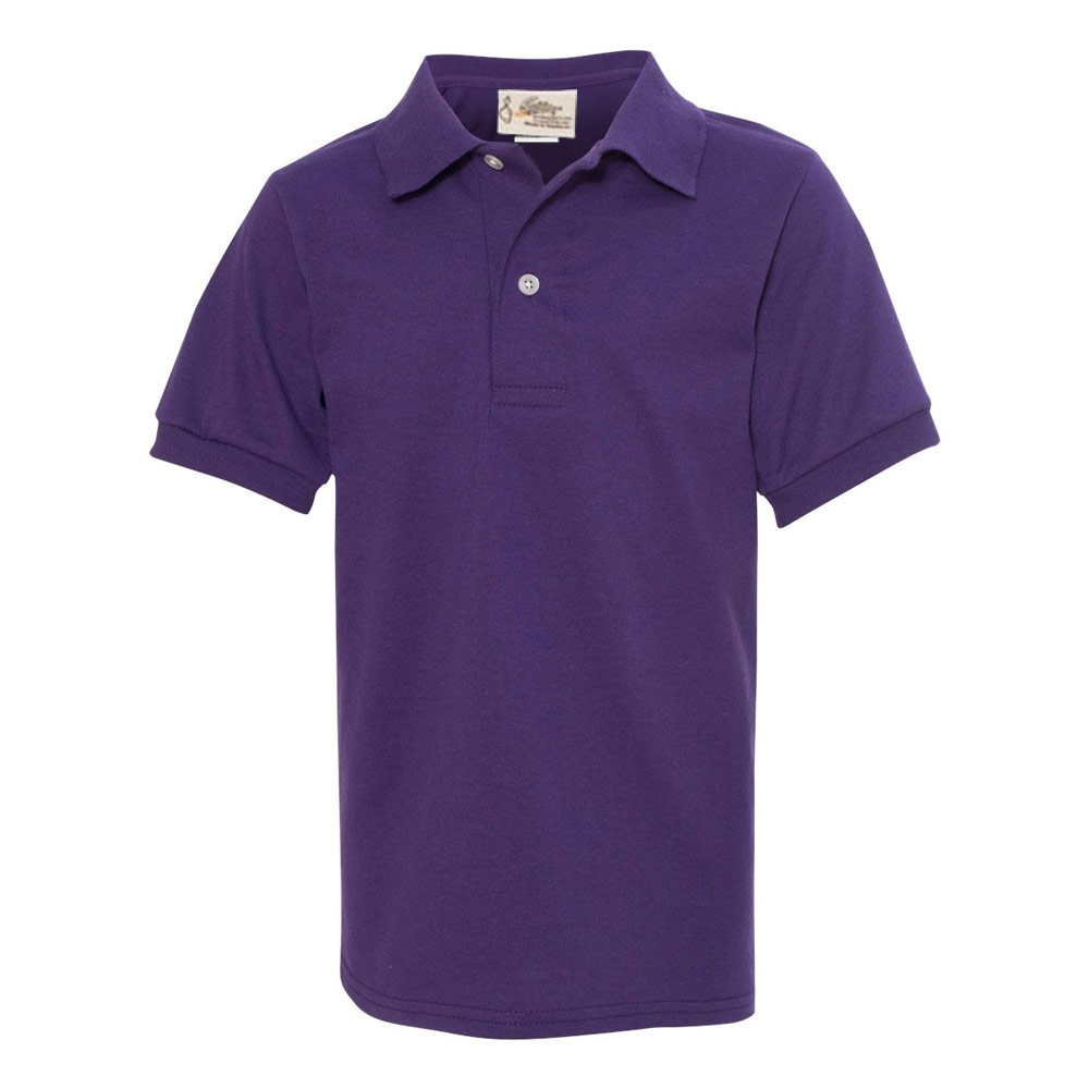 Deep Purple Youth SpotShield Jersey Sport Shirt?