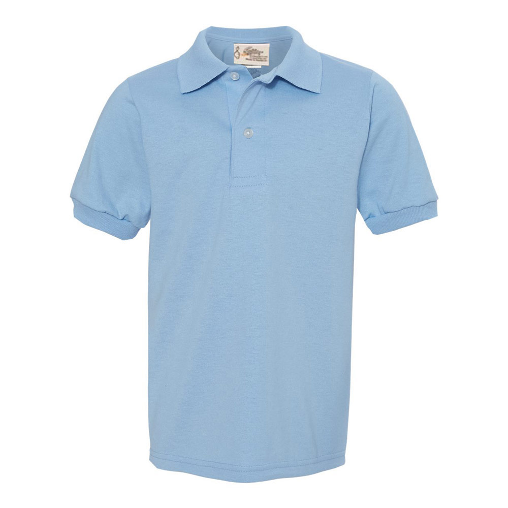Light Blue Youth SpotShield Jersey Sport Shirt?