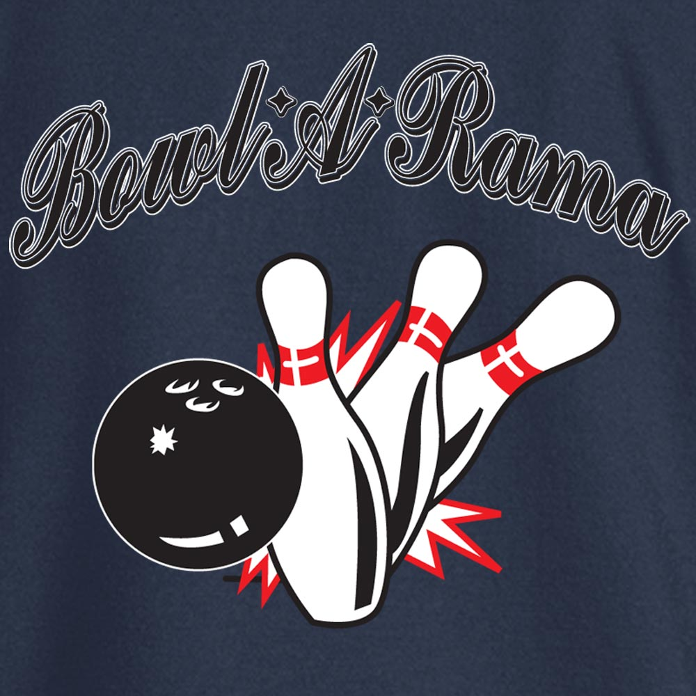 Bowl-A-Rama Stock Print on Youth SpotShield Jersey Sport Shirt
