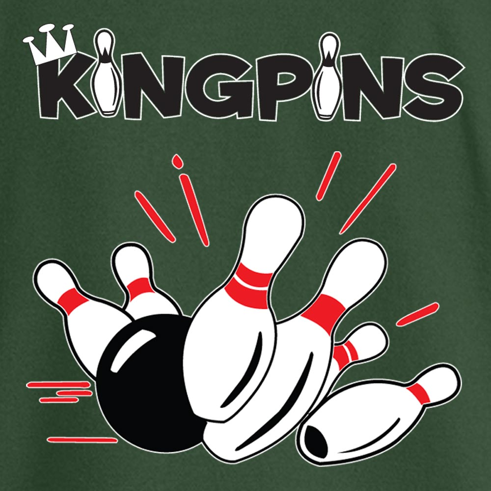 Kingpin Stock Print on Youth SpotShield Jersey Sport Shirt