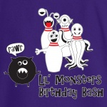 Lil Monsters Stock Print on Youth SpotShield Jersey Sport Shirt