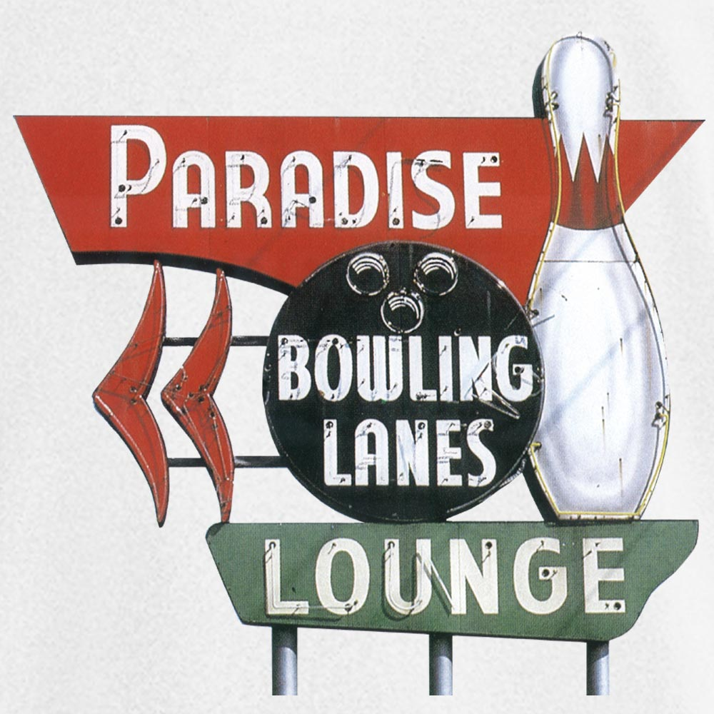 Paradise Lanes Stock Print on Youth SpotShield Jersey Sport Shirt