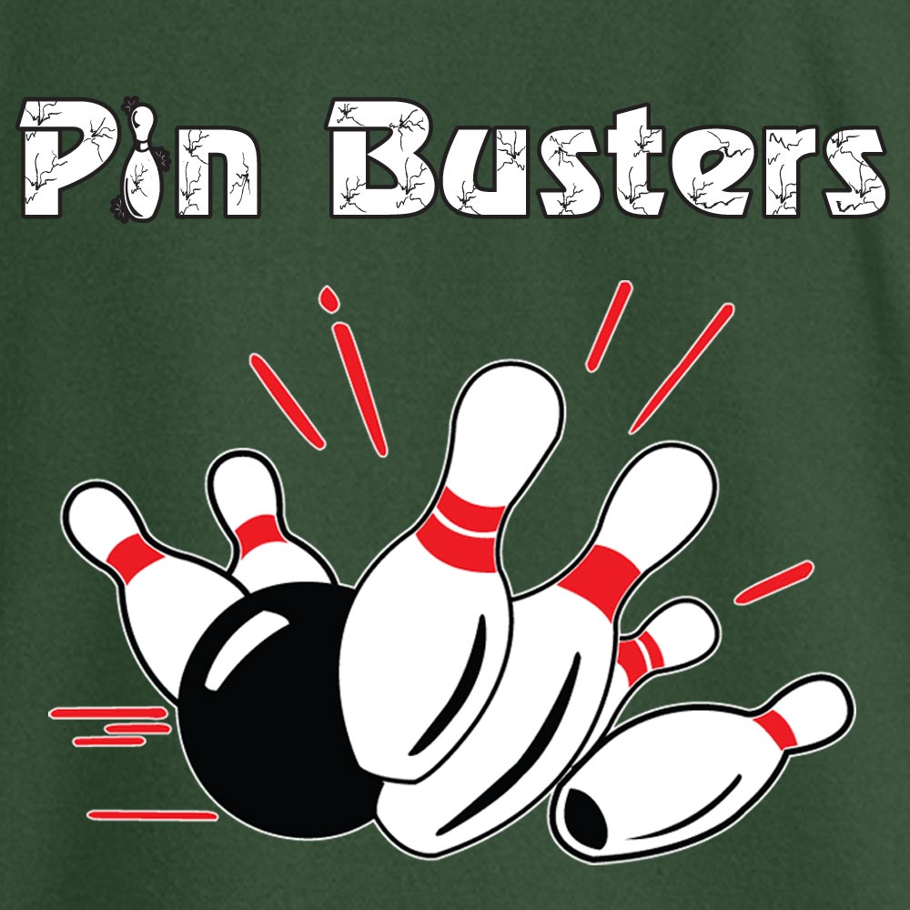 The Pin Busters Stock Print on Youth SpotShield Jersey Sport Shirt