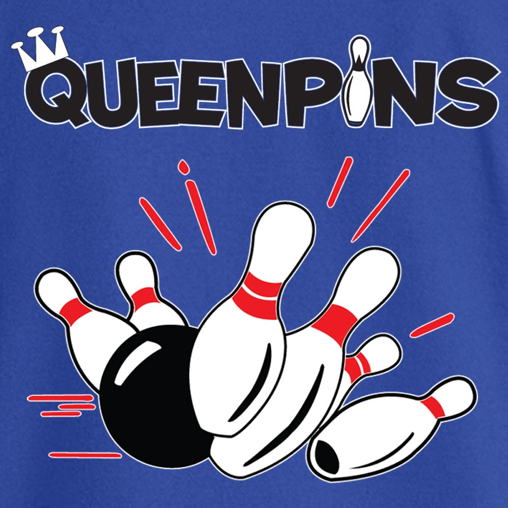 Queenpins Stock Print on Youth SpotShield Jersey Sport Shirt