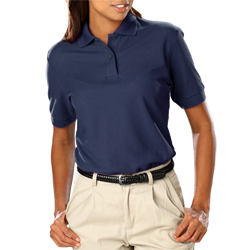LADIES BLUE GENERATION Dri Fit Polo shirt-NAVY/ WHITE-MD