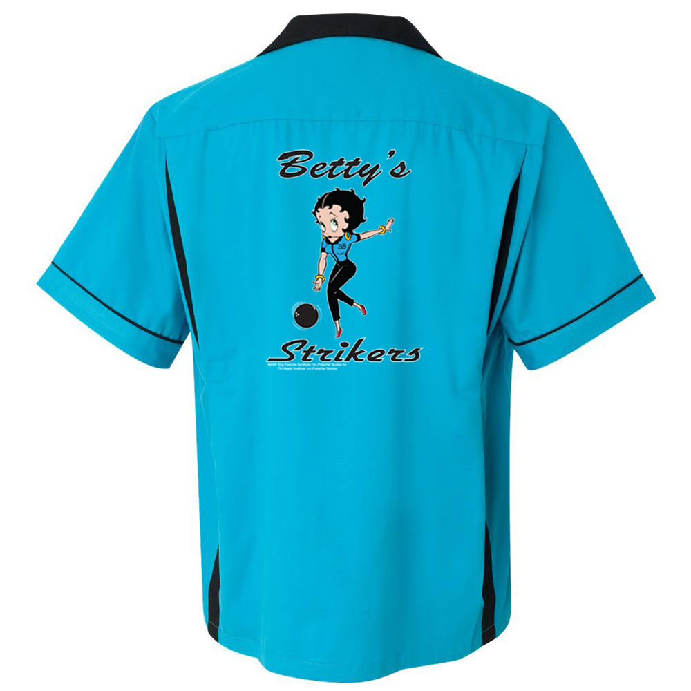 Betty's Strikers Stock Print on Classic Bowler 2.0