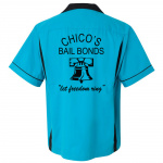 Chicos Bail Bonds Stock Print on Classic Bowler 2.0