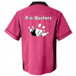 Pin Busters Stock Print on Classic Bowler 2.0