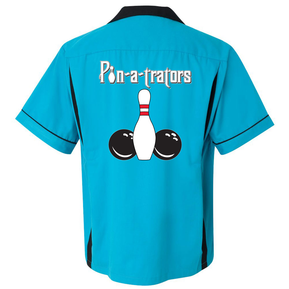 Pin-a-trators Stock Print on Classic Bowler 2.0