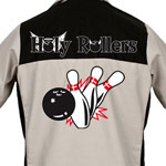 Holy Rollers Printed on Garren Bowling Shirt