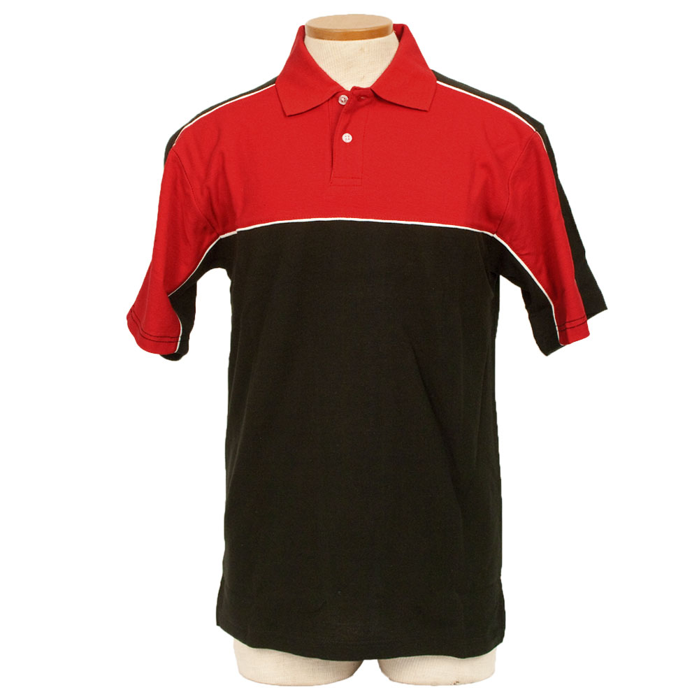 Enzo Racing Shirt - Red and Black