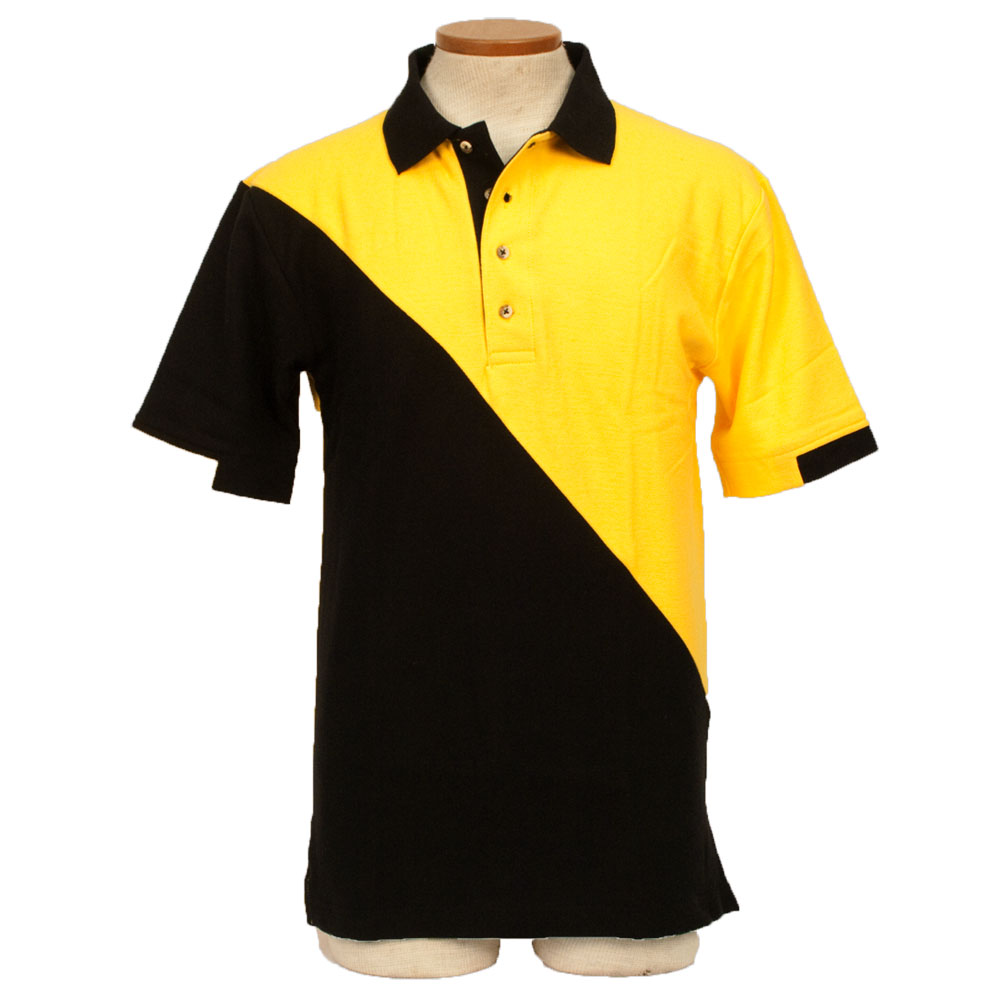 RPM Racing Shirt - Gold and Black