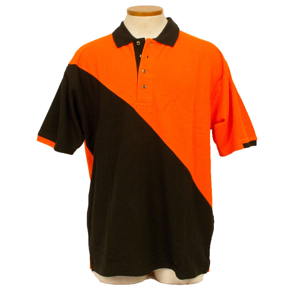 RPM Racing Shirt - Orange and Black