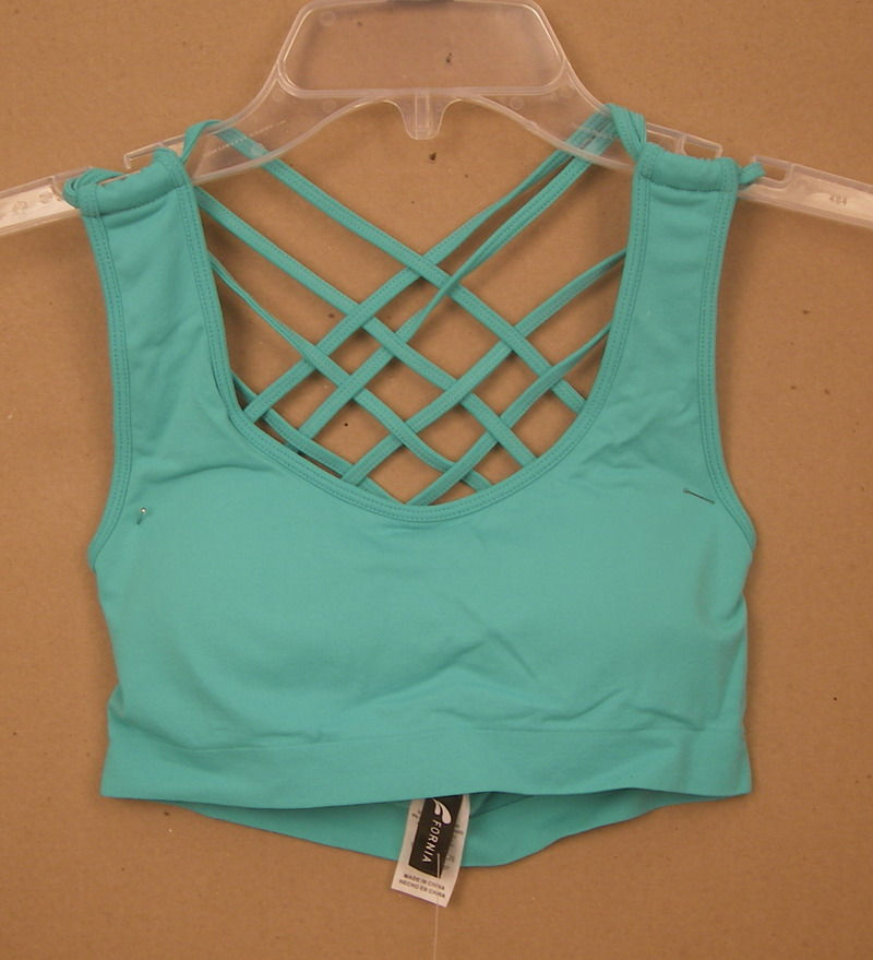 FORNIA L/XL AQUA SPORTS BRA
