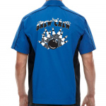 Brew Crew Stock Print on Muckler Bowling Shirt