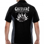 Guzzlers Stock Print on Muckler Bowling Shirt