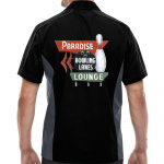 Paradise Lanes Stock Print on Muckler Bowling Shirt
