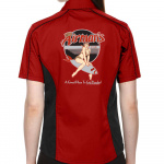 Airman's Stock Print on Lady Muckler Bowling Shirt
