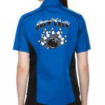 Brew Crew Stock Print on Lady Muckler Bowling Shirt