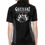 Guzzlers Stock Print on Lady Muckler Bowling Shirt
