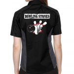 Bowling Stones Stock Print on Lady Muckler Bowling Shirt