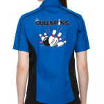 Queenpins Stock Print on Lady Muckler Bowling Shirt