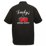 Lucky's Speed Shop Stock Print on The Player