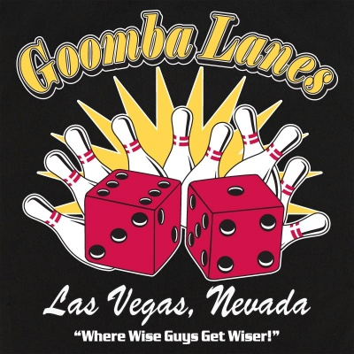 Goomba Lanes Stock Print on Retro Bowler