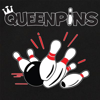 Queenpins Stock Print on Youth Classic Bowler