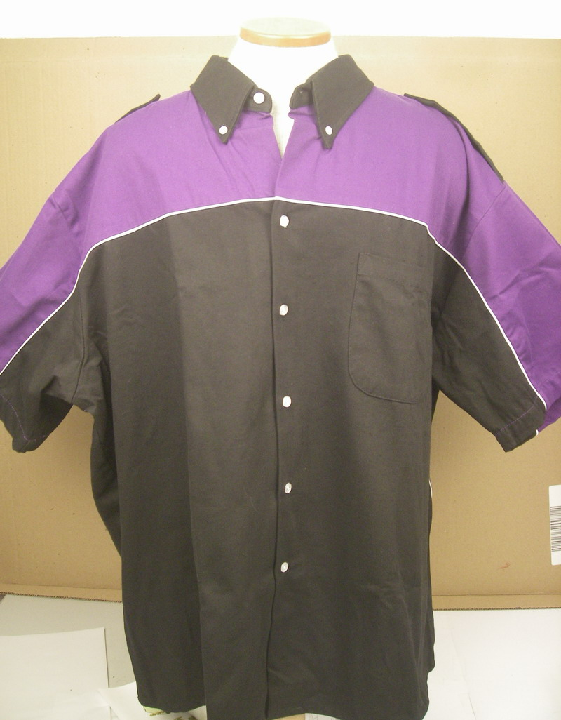 PINSPLASH-on PURPLE/BLACK DILLINGER-2XL